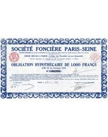 Sté Foncière Paris-Seine