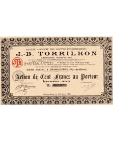 Ets J. B. Torrilhon (Caoutchouc Manufacturé)
