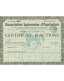 Association Lyonnaise d'Equitation