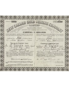 New Callao Gold Mining Company Ltd. 1946
