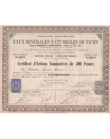 Eaux Minérales Naturelles de Vichy