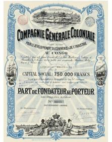 Cie Générale Coloniale