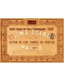 """Sté Française des Films et Cinématographes -Eclair-"""""""""""
