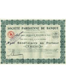 Sté Parisienne de Banque