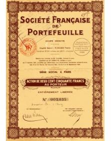 Sté Française de Portefeuille