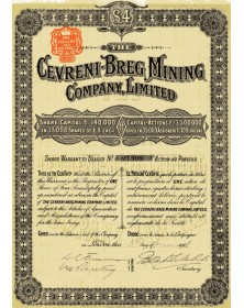 The Cevreni-Breg Mining Co. Ltd