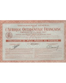 Gouvernement Général de l'Afrique Occidentale Française