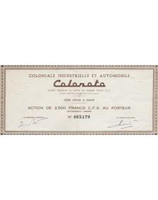 Coloniale Industrielle et Automobile - Colonoto