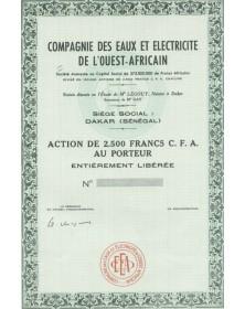 Cie des Eaux et Electricite de l'Ouest-Africain