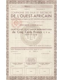 Cie des Eaux et Electricité de l'Ouest Africain