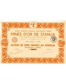 Mines d'Or de Stanija