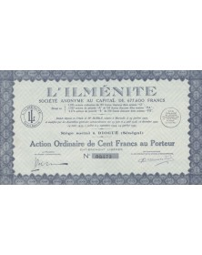L'ILMENITE