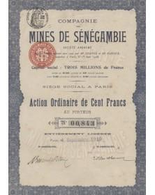 Cie des Mines de Sénégambie