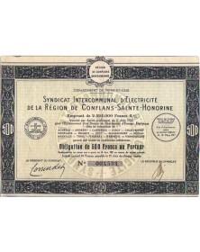 Syndicat Intercommunal d'Electricité de la Région de Conflans-St-Honorine