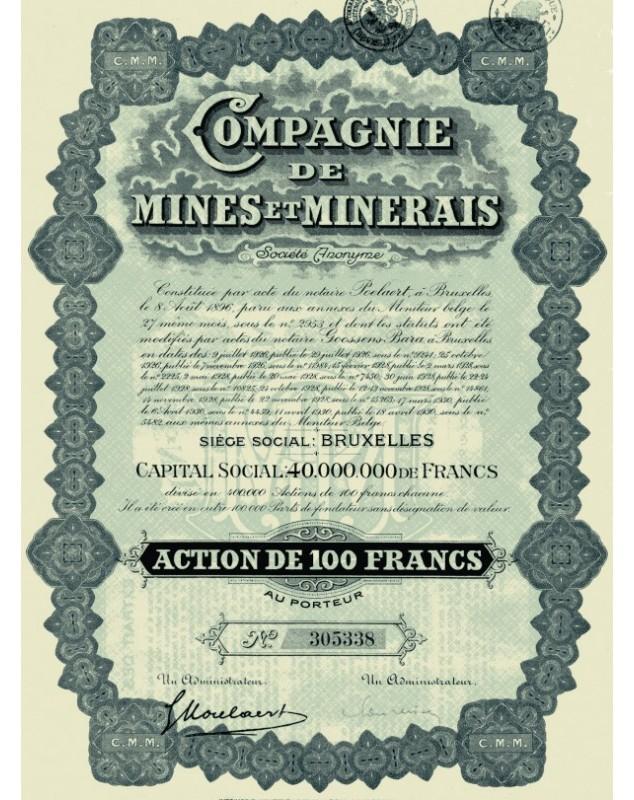 Cie de Mines et Minerais