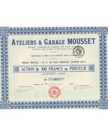 Ateliers & Garage Mousset