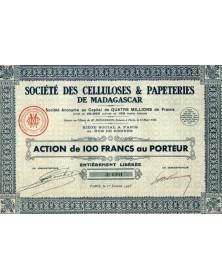 Sté des Celluloses & Papeteries de Madagascar