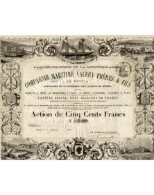 Cie Maritime Valéry Frères & Fils de Bastia