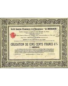 Sté d'Assurances et de Réassurances ''La Bourgogne''