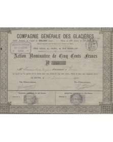 Cie Générale des Glaçières