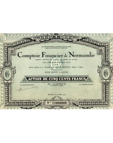 Comptoir Financier de Normandie