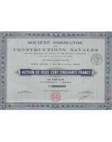 Sté Normande de Constructions Navales