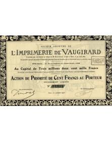 S.A. de l'Imprimerie de Vaugirard