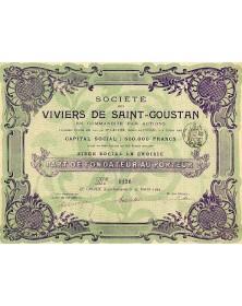 Sté des Viviers de Saint-Goustan