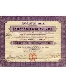 Sté des Phosphates de Fauzan