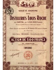 S.A. des Distilleries Louis Roche