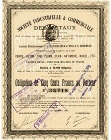 Sté Industrielle & Commerciale des Métaux