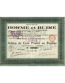 Sté Horme et Buire (Automobile)