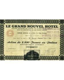 S.A. Le Grand Nouvel Hotel