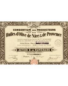 Consortium des Producteurs des Huiles d'Olive de Nice & de Provence