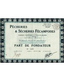 Pêcheries & Sècheries Fécampoises