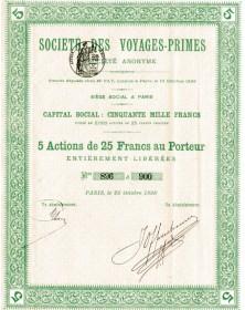 Sté des Voyages-Primes