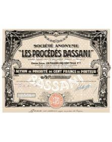Les Procédés Bassani