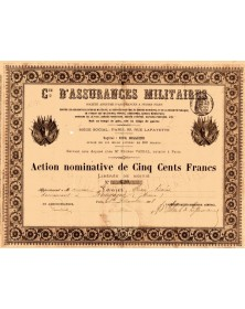 Cie d'Assurances Militaires