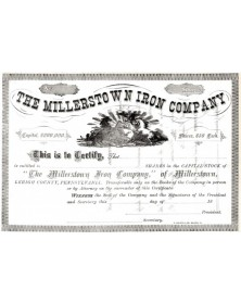 The Millerstown Iron Co.