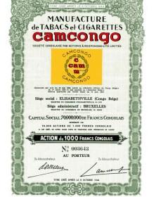 Manufacture de Tabacs et Cigarettes Camcongo