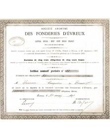 S.A. des Fonderies d'Evreux