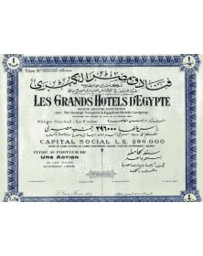 Les Grand Hotels d'Egypte (Anc. The George Nungovich Co.)