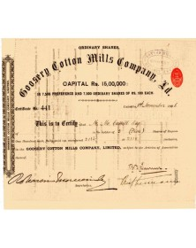 Goosery Cotton Mills Company Ltd.