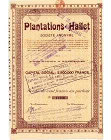 Plantations Hallet (Indochine)