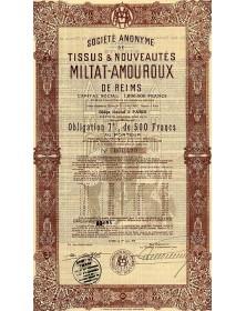 S.A. des Tissus & Nouveautés Miltat-Amouroux de Reims