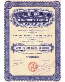 Sté Le Dioradin pour le traitement & la Guérison de la Tuberculose