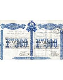 Emprunt du Gouvernement de Honduras 1869
