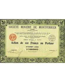 Sté Minière de Montferrier