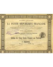 La Petite Répulique Française