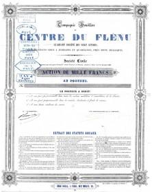 Cie Houillère du Centre du Flénu